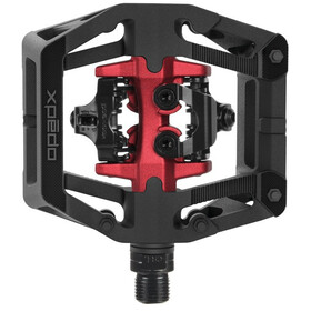 Xpedo GFX Neo Clipless Pedals black/red